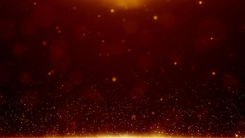 Particles dust bokeh abstract light motion titles cinematic background loop GIF