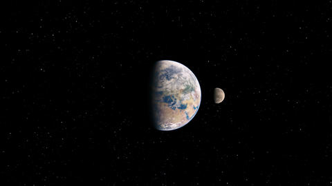 Earth&Space Animation