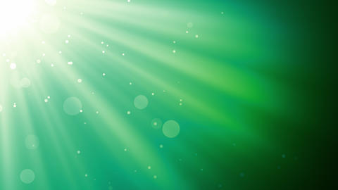 Serene Light Rays Animation