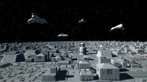 Space Opera: Dogfight 3 Animation