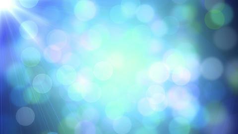 Cool Colorful Lights Bokeh Animation