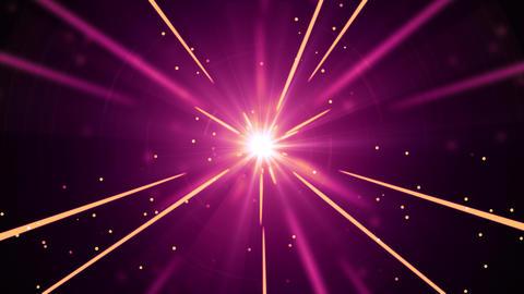 Shooting Star Light Streaks Animation