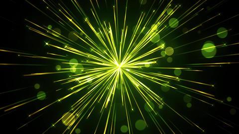 Serene Sparkling Light Streaks Animation