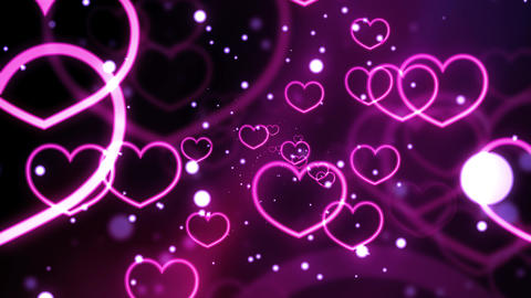 Love Forever Hearts Animation