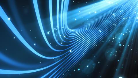 Cool Light Rays Streaks Animation