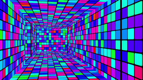 Retro Disco Lights Labyrinth 02 Animation