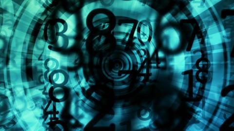 circular grunge Stock Video Footage