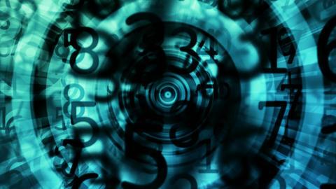 circular grunge Animation