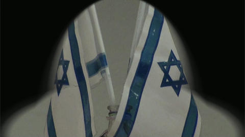 Israel Flags Footage