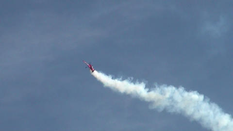 Footage Kunstflug Airshow 2012 03 Stock Video Footage