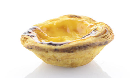 Pastel de nata Stock Video Footage