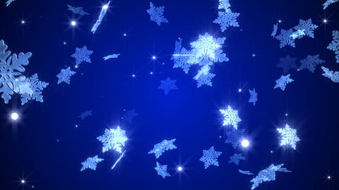 Snowy crystal Animation