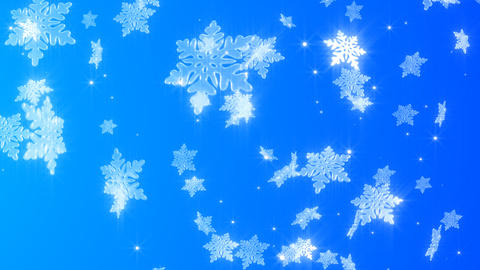 Snowy crystal Animation