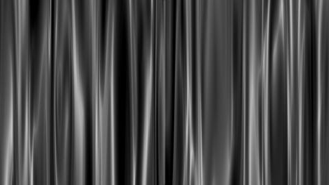Gray curtains open, white background Stock Video Footage