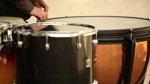 drum training Stock Video Footage