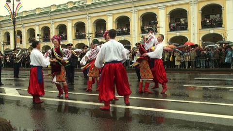 Russian folk dance Footage