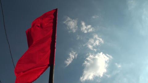flag wind Stock Video Footage