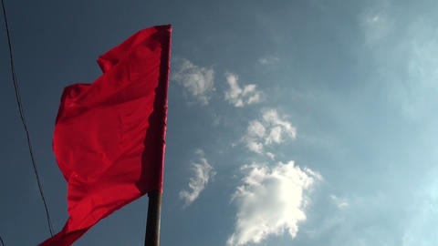 flag wind Stock Video Footage