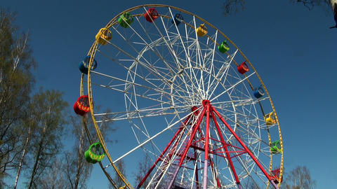 Ferris wheel Stock Video Footage