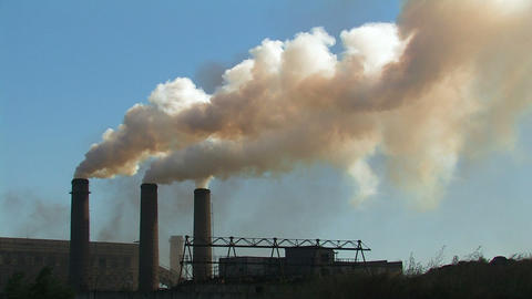 Smoking chimneys Footage