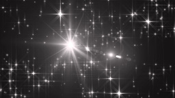 Stars grey bright motion background Animation