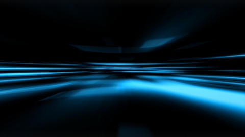 Blue Technology Background Stock Video Footage