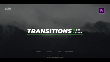Transitions Pack Premiere Pro Template