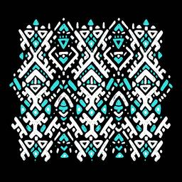 Ikat ornament. Tribal pattern ベクター