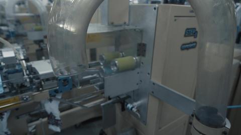 Machine sewing production 영상물