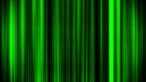 Green Glowing Vertical Lines Loop Motion Graphic Background Animation