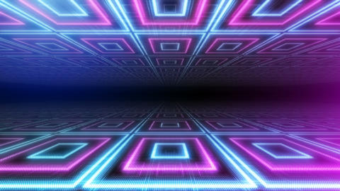 LED Floor 1 B F1b 4k CG動画素材