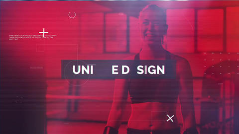Fitness Motivation After Effects Template