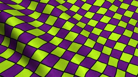 Yellow Purple Rhombus Pattern Fabric Cloth Material Texture Seamless Looped Ba Animation