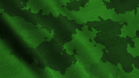 Military Green Fabric Cloth Material Texture Seamless Looped Background Animation