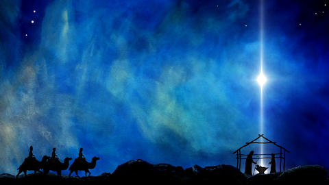 Nativity of Jesus Star Of Bethlehem ビデオ