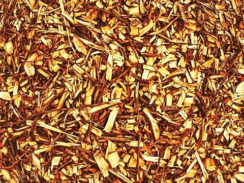Pile of wood chips and sawdust can be used for biofuel manufacturing フォト