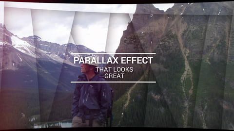 Parallax Adventure After Effectsテンプレート