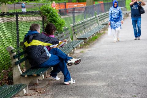 Central Park Street Story Fotografía