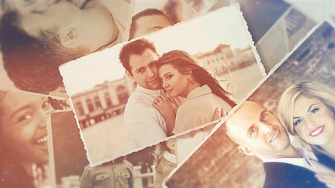 Stylish Photo Slideshow After Effects Template