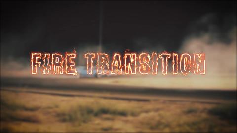 Fire Transition Premiere Pro Template