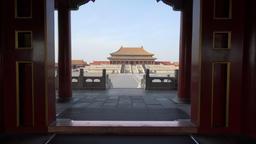4k video of Forbidden City in Beijing Footage