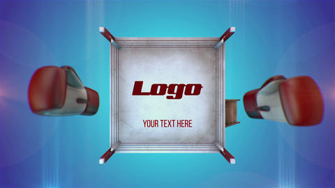 Sport Logo Boxing After Effects Template