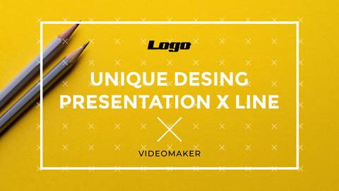 Presentation X Line After Effects Template