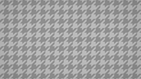 千鳥格子のモーショングラフィックス(ループ可能)-グレー CG動画