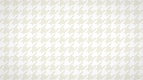 千鳥格子のモーショングラフィックス(ループ可能)-アイボリー CG動画