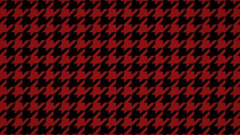 千鳥格子のモーショングラフィックス(ループ可能)-レッド&ブラック CG動画