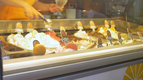 Tourist Buying Ice Cream Live Action