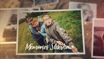 Memories Slideshow (2) Plantilla de After Effects