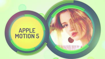 Circular Process: Template for Apple Motion 5 and Final Cut Pro X Apple Motion Template