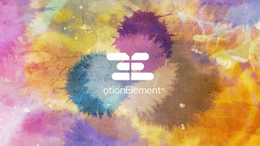 Paint Logo Reveal After Effects Template